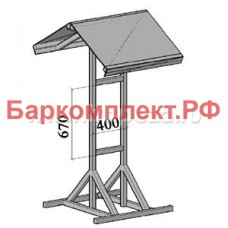 Подставка с навесом для 2-х сплит-систем fsm/fsl ТТМ MK-2split