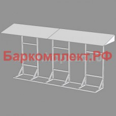 Подставка с навесом для 3-х сплит-систем fsm/fsl ТТМ МК-3split