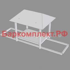 Подставка с навесом для сплит-системы серий sth/stm/stl ТТМ ПСС-100/8Р-01