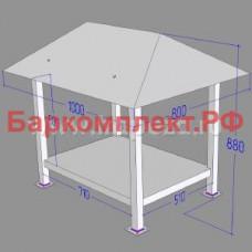 Подставка с навесом для сплит-систем sth/stm/stl, разборная ТТМ ПСС-100/8Р