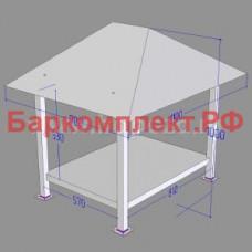 Подставка с навесом для сплит-системы серий sth/stm/stl ТТМ ПСС-110/9Р