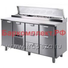 Столы для пиццы и салатов Skycold Porkka CL-P/S-1-CD-3-3+SP18492