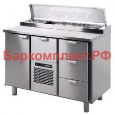 Столы для пиццы и салатов Skycold Porkka CL-P/S-1-CD-3+SP10305