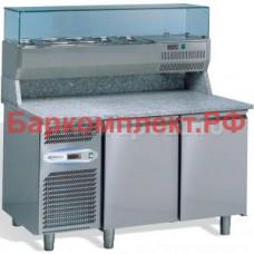 Столы для пиццы и салатов Studio 54 TEQUILA 1410x800 2P GN 1/4