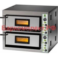 Печи для пиццы электрические Fimar FME4+4 380V (Stainless Steel)