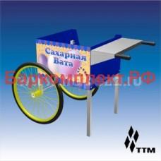 Тележки, базы, мобильные прилавки ТТМ ТАСВ-054СКС