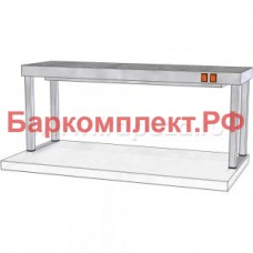 Подогревающие лампы и поверхности полки тепловые ТТМ ПНПК1-100/4