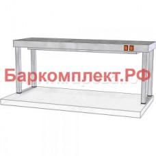 Подогревающие лампы и поверхности полки тепловые ТТМ ПНПК1-130/4