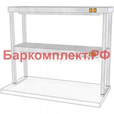 Подогревающие лампы и поверхности полки тепловые ТТМ ПНПК2-090/3