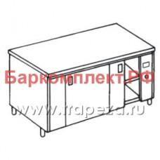 Столы тепловые, сквозные Metaltecnica TAVR2/18