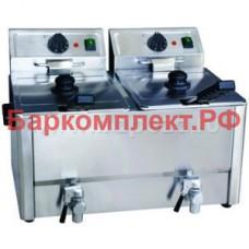 Фритюрницы электрические настольные Gastrorag CZG-HDF8+8