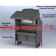 Гидрофильтр-искрогаситель для зонта v-2 и v-3 Vesta Блок искрогасителя VESTA