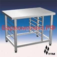 Стенд под пароконвектомат lainox,  6хgn1/1, столешница 930х600 ТТМ SPL-06GN1/1-01
