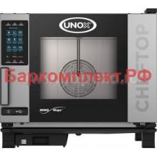 Пароконвектоматы газовые Unox XEVC-0511-GPL