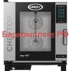 Пароконвектоматы газовые Unox XEVC-0711-GPR