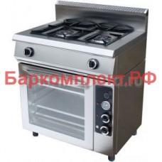 Плиты газовые Гриль Мастер Ф2ПДГ/600 с духовкой