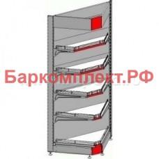 Стеллажи нейтральные Марихолодмаш ТСПУ Купец 600*560вн