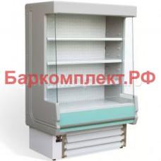Стеллажи холодильные Studio 54 ZIGURAT 1500+Front decoration (1)